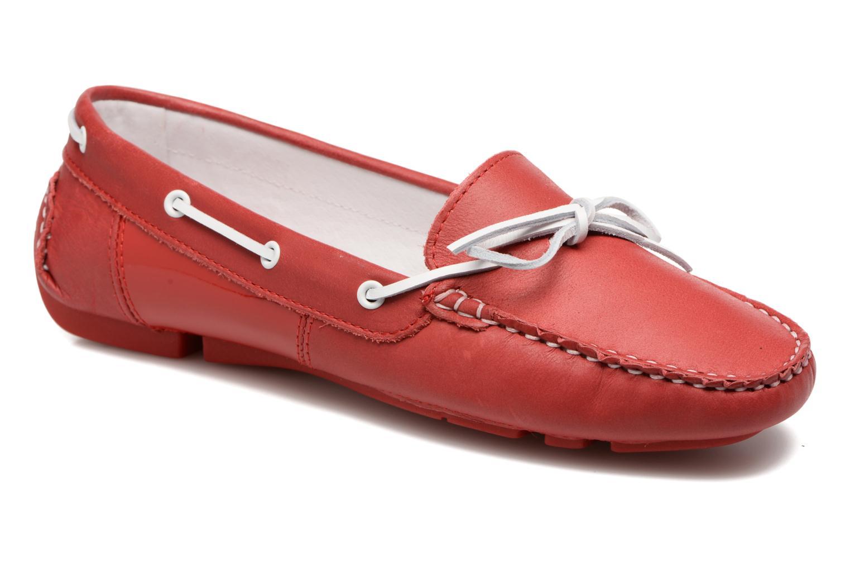 Chaussures à lacets TBS Bettsy Rouge vue détail/paire