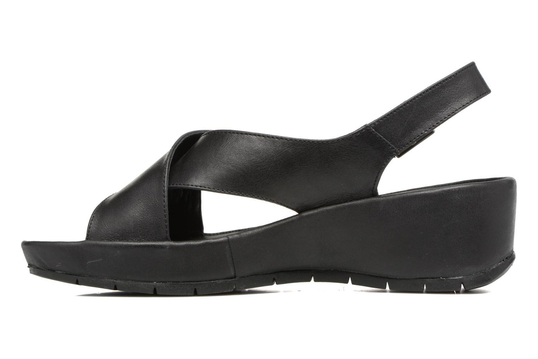 Sandales et nu-pieds TBS Louanne Noir vue face