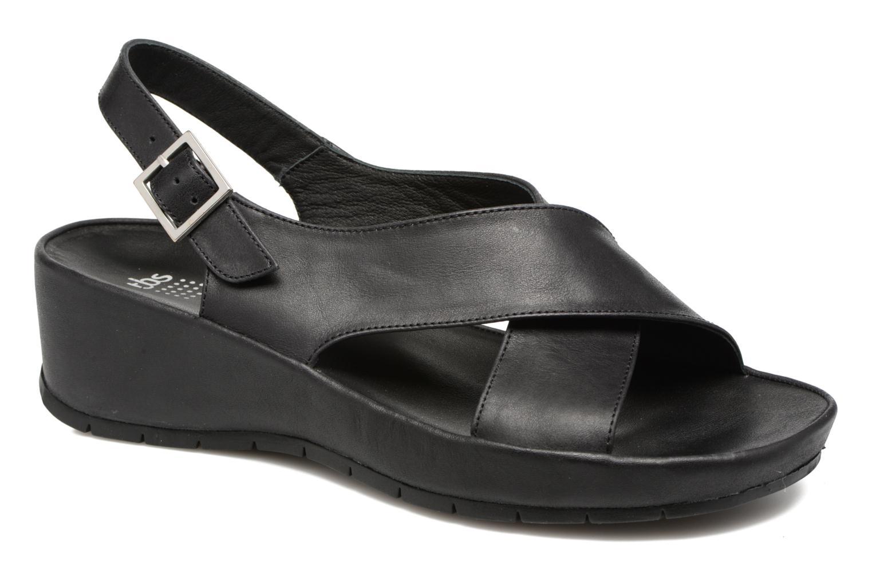 Sandales et nu-pieds TBS Louanne Noir vue détail/paire