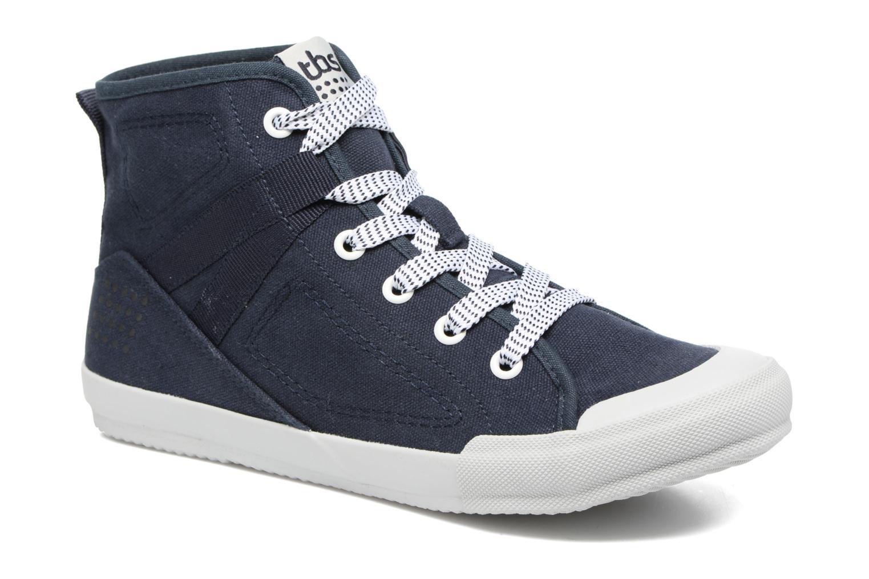 Sneakers TBS Oliviah Blauw detail