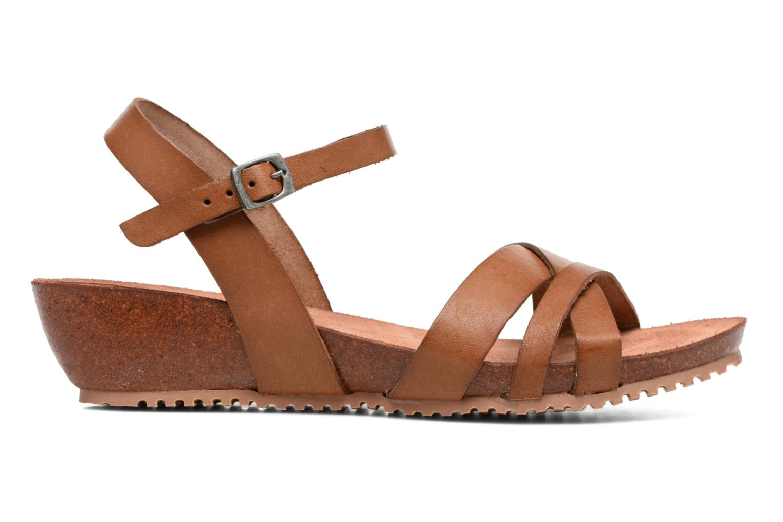 Sandales et nu-pieds TBS Sabinne Marron vue derrière
