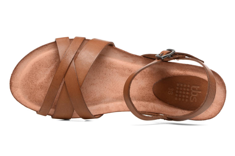 Sandales et nu-pieds TBS Sabinne Marron vue gauche