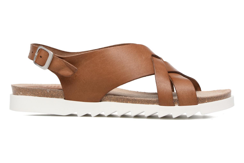 Sandales et nu-pieds TBS Tressie Marron vue derrière