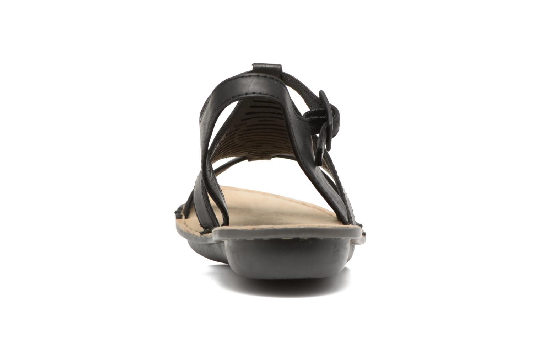 Sandales et nu-pieds TBS Zaharia Noir vue droite