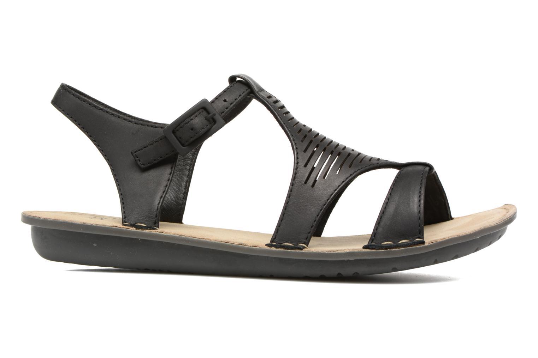 Sandales et nu-pieds TBS Zaharia Noir vue derrière