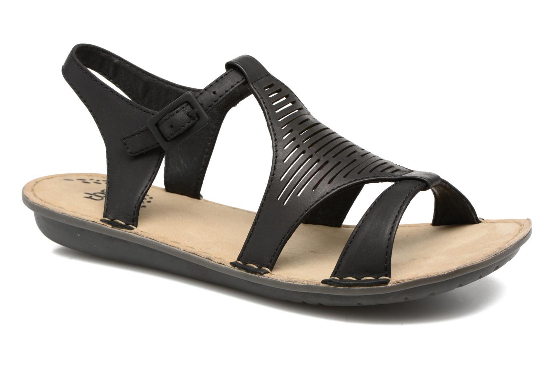 Sandales et nu-pieds TBS Zaharia Noir vue détail/paire