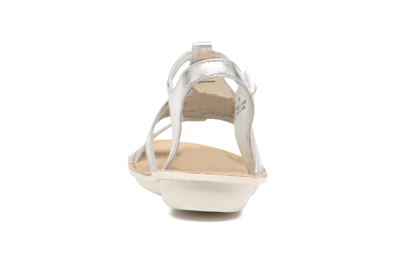 Sandales et nu-pieds TBS Zaharia Argent vue droite