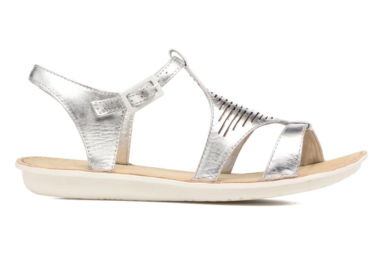 Sandales et nu-pieds TBS Zaharia Argent vue derrière
