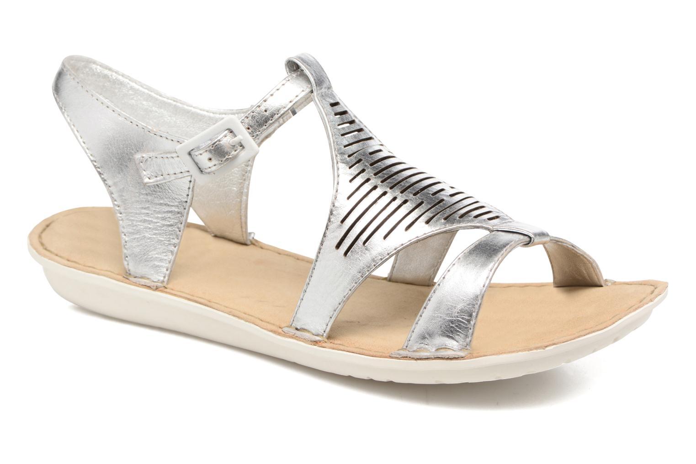 Sandales et nu-pieds TBS Zaharia Argent vue détail/paire