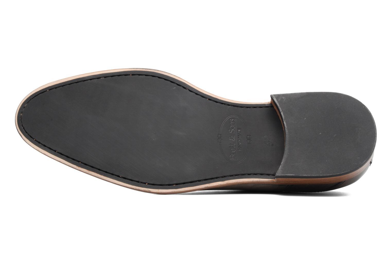 Chaussures à lacets Brett & Sons Jared Gris vue haut