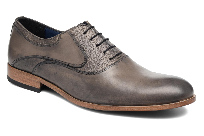 Chaussures à lacets Brett & Sons Jared Gris vue détail/paire