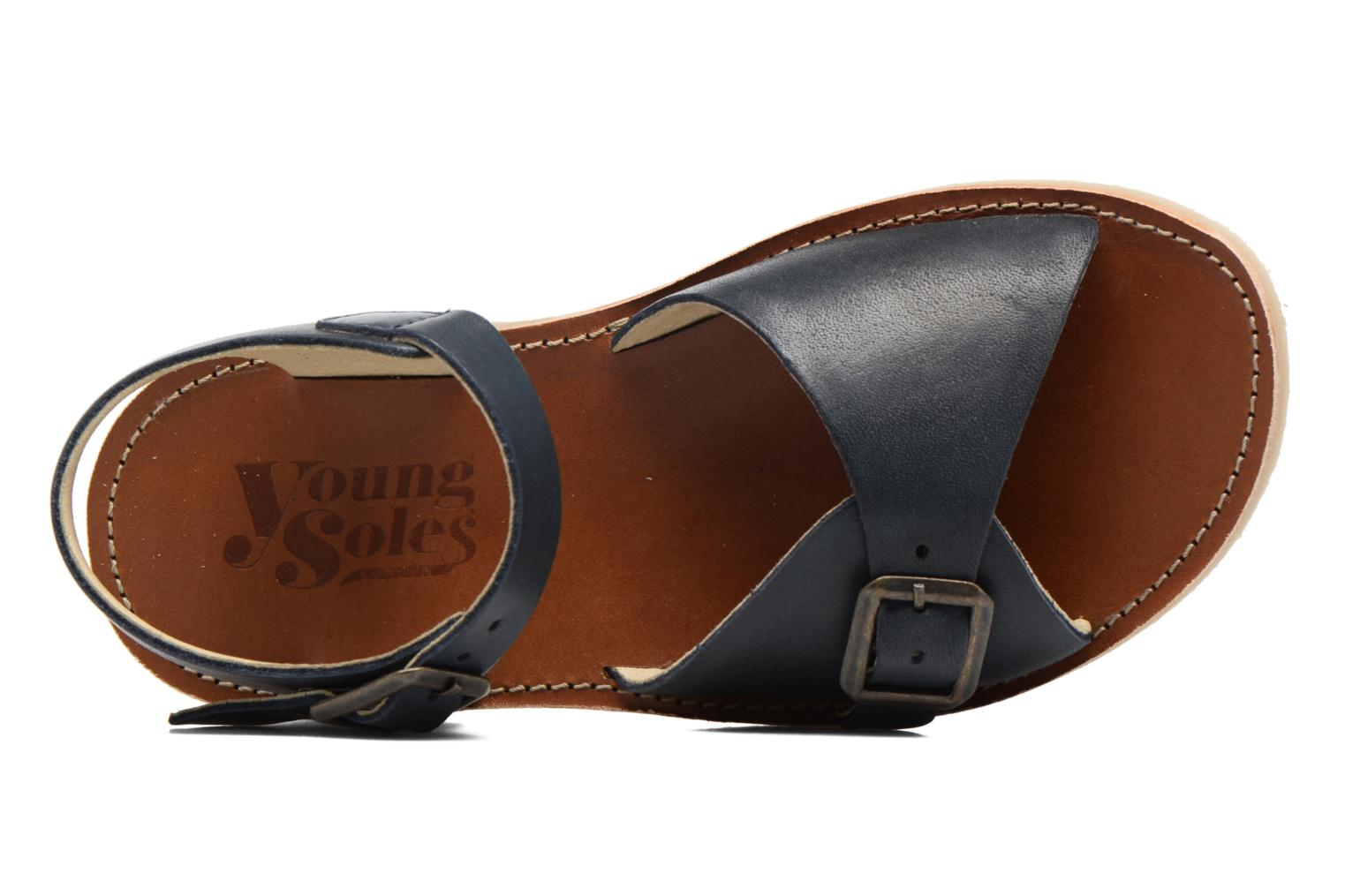 Sonny Navy leather