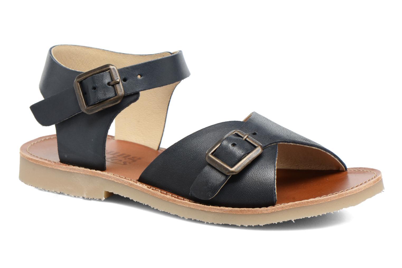 Sonny Navy leather