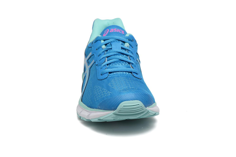 Chaussures de sport Asics Gel-Impression 9 W Bleu vue portées chaussures