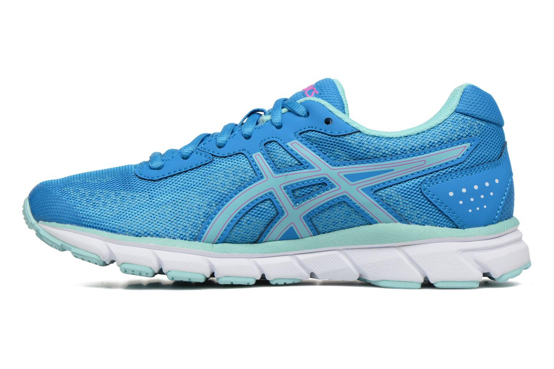 Chaussures de sport Asics Gel-Impression 9 W Bleu vue face