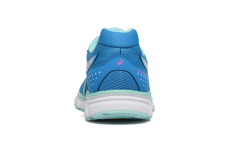 Chaussures de sport Asics Gel-Impression 9 W Bleu vue droite