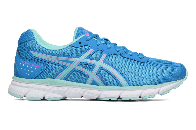 Chaussures de sport Asics Gel-Impression 9 W Bleu vue derrière