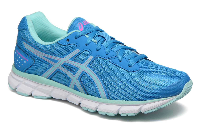 Chaussures de sport Asics Gel-Impression 9 W Bleu vue détail/paire