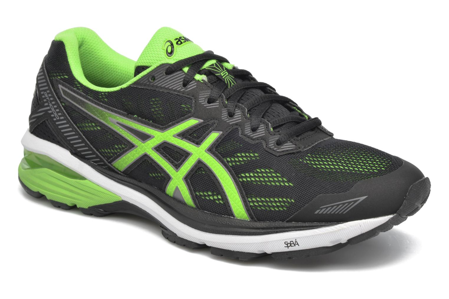 Sport shoes Asics GT-1000 5 Black detailed view/ Pair view