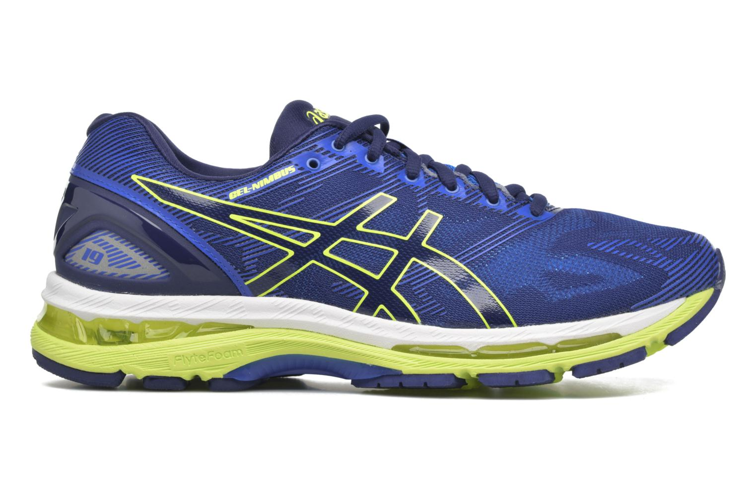 Gel-Nimbus 19 Indigo Blue/Safety Yellow/Electric Blue