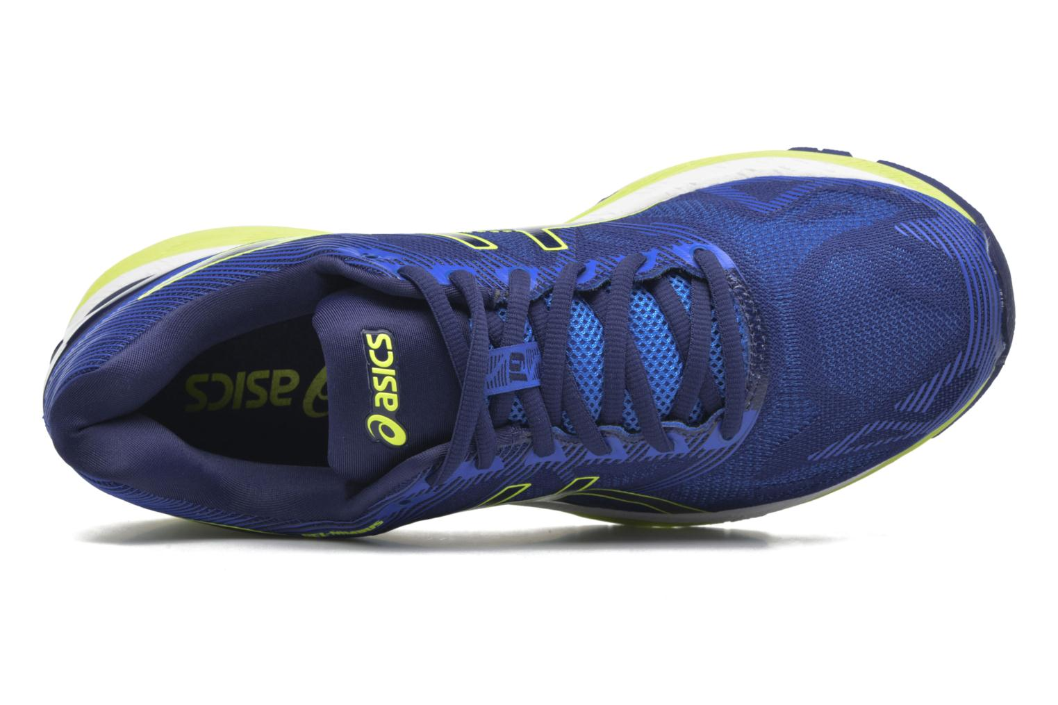 Sport shoes Asics Gel-Nimbus 19 Blue view from the left