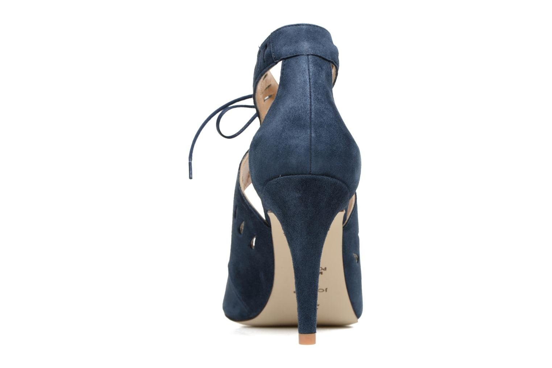 Sandales et nu-pieds Jonak ADELIE Bleu vue droite