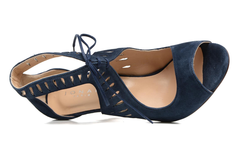 Sandales et nu-pieds Jonak ADELIE Bleu vue gauche