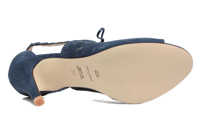 Sandales et nu-pieds Jonak ADELIE Bleu vue haut