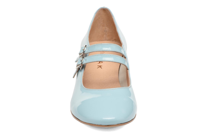 Escarpins Jonak Aliette Bleu vue portées chaussures
