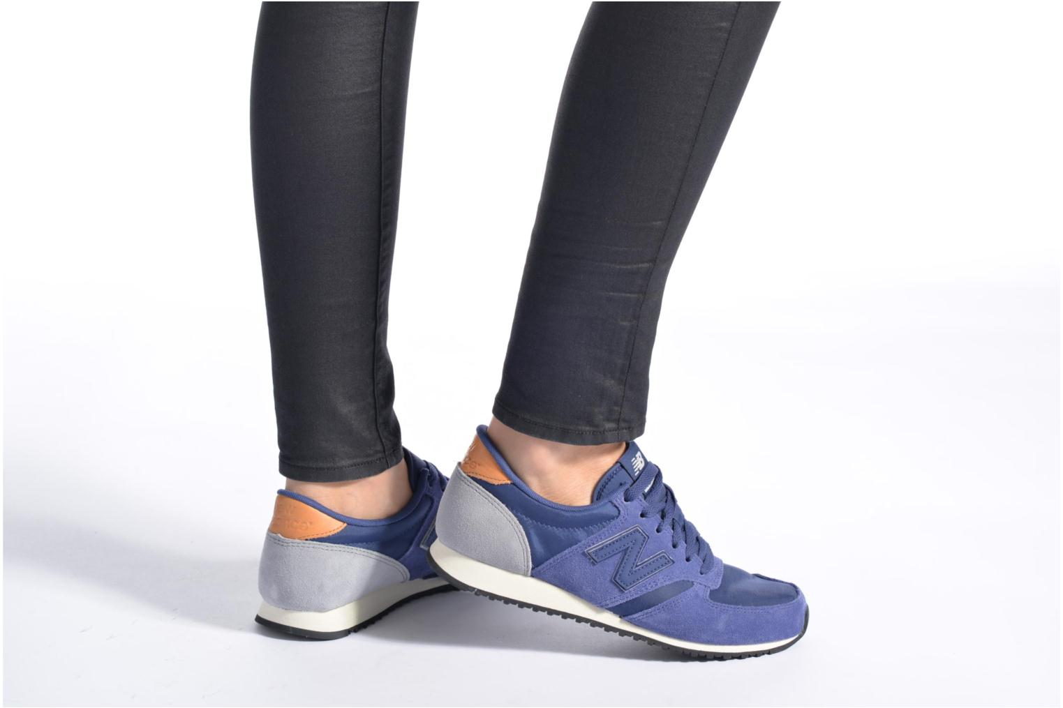 Trainers New Balance U420 SMU W Blue view from underneath / model view