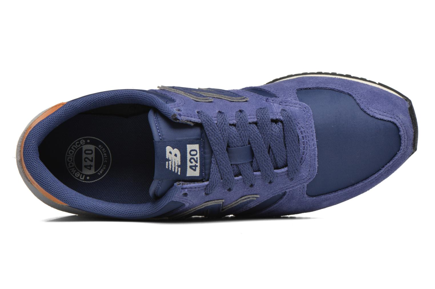 Trainers New Balance U420 SMU W Blue view from the left