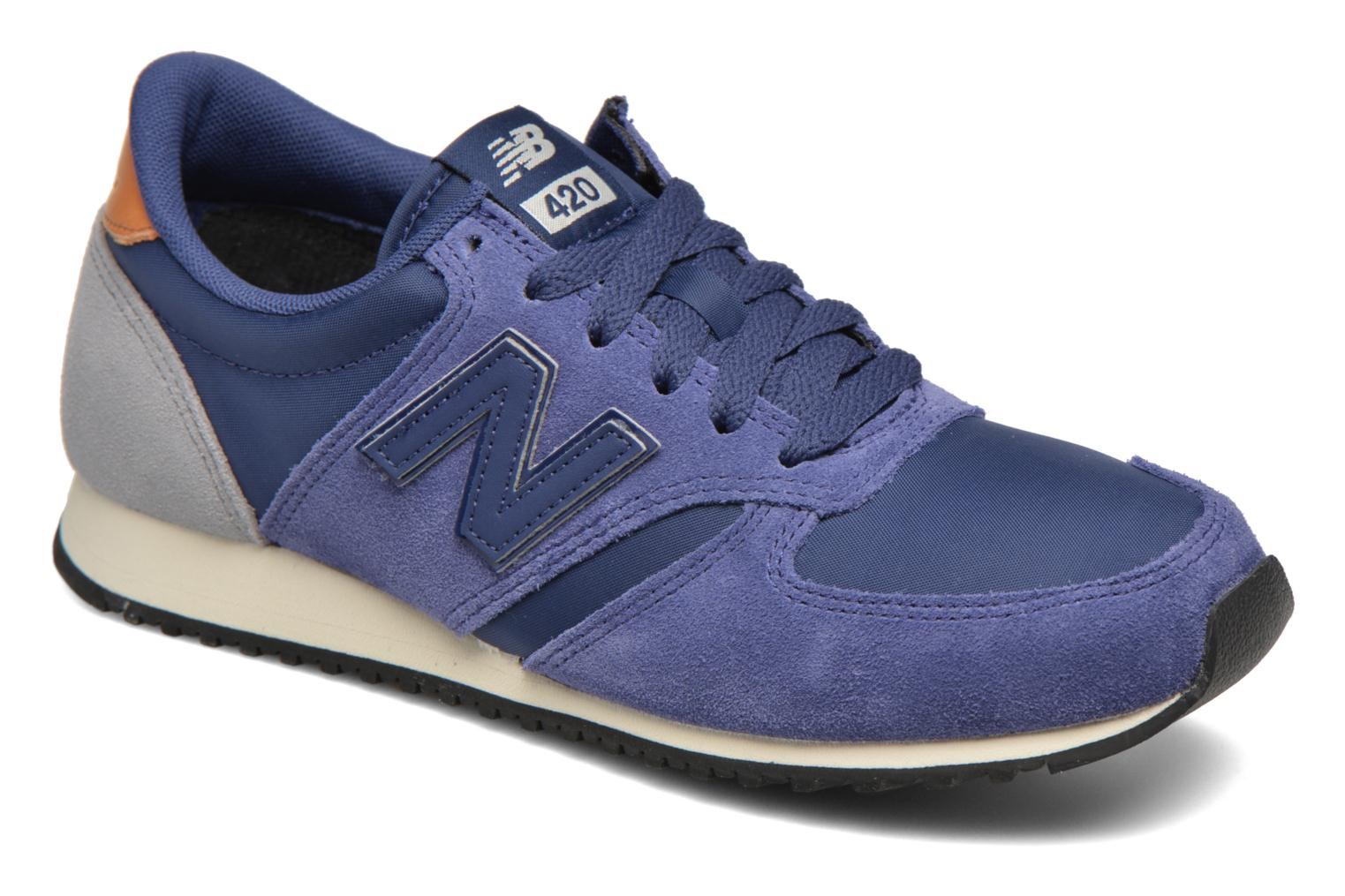 Trainers New Balance U420 SMU W Blue detailed view/ Pair view