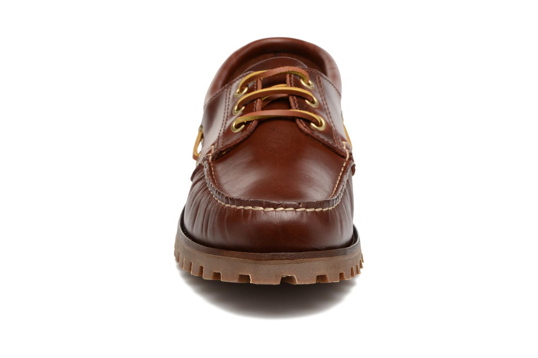 Chaussures à lacets Marvin&Co Smount Marron vue portées chaussures