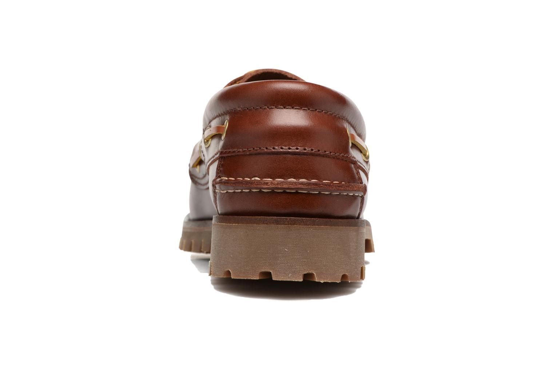 Chaussures à lacets Marvin&Co Smount Marron vue droite