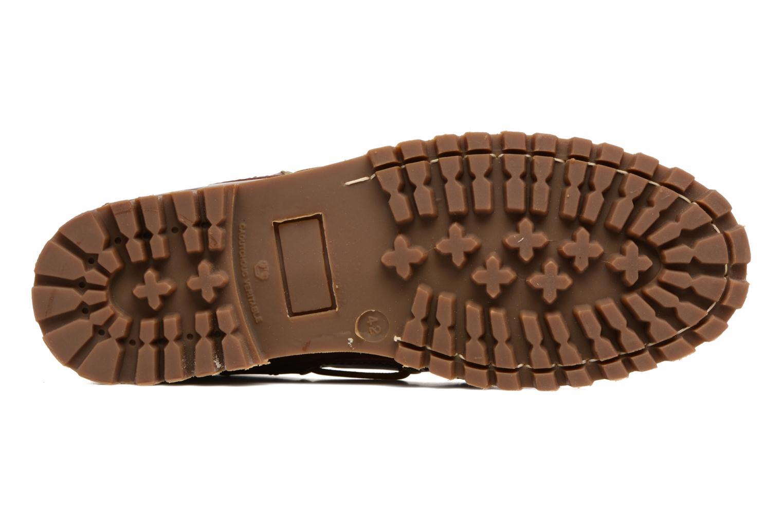 Chaussures à lacets Marvin&Co Smount Marron vue haut