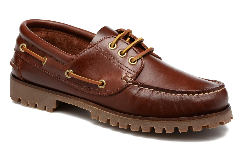Chaussures à lacets Marvin&Co Smount Marron vue détail/paire