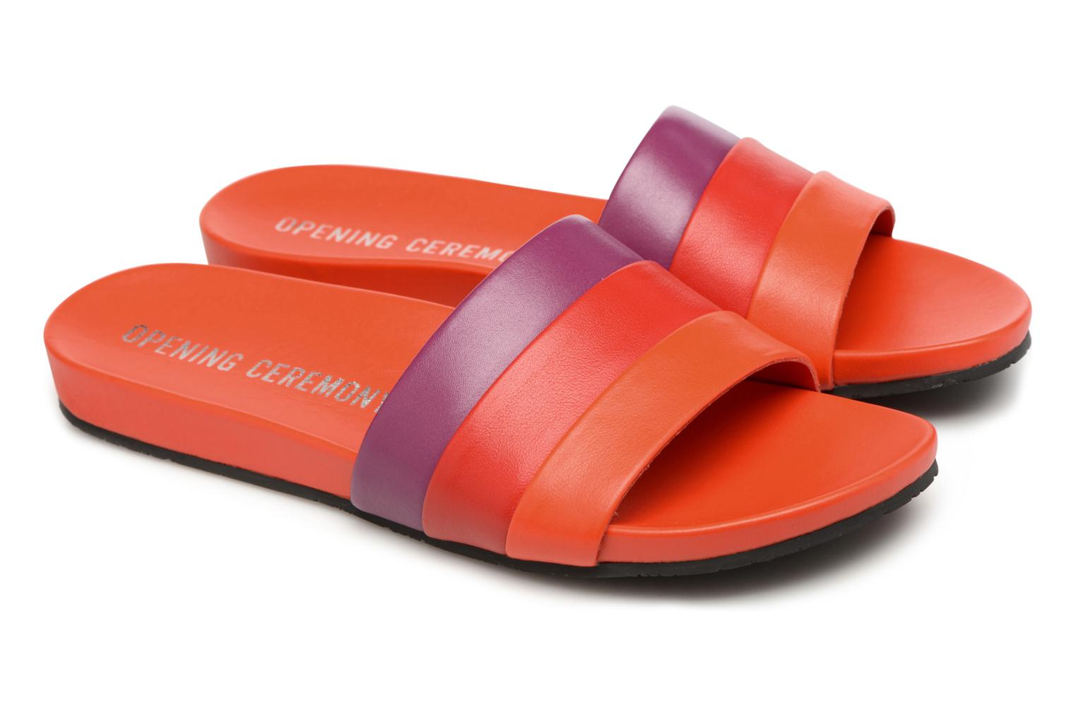 Mules & clogs Opening Ceremony Kaatya Sandal Red 3/4 view