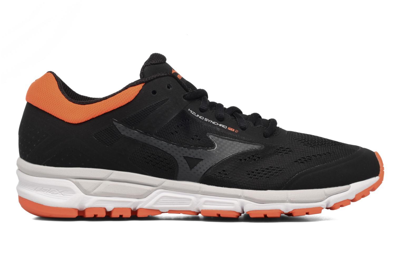 Chaussures de sport Mizuno Mizuno Synchro MX 2 Noir vue derrière
