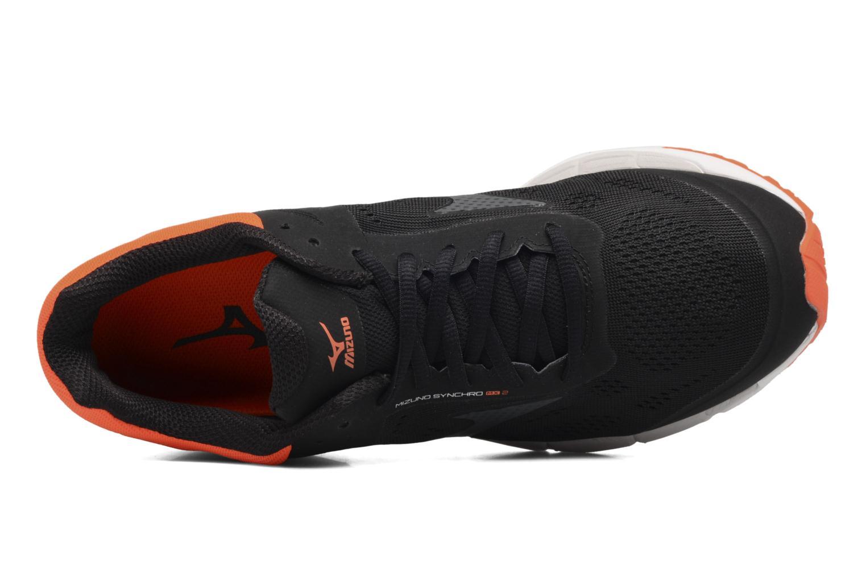 Chaussures de sport Mizuno Mizuno Synchro MX 2 Noir vue gauche