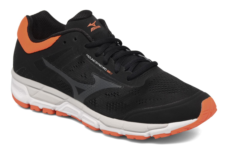 Chaussures de sport Mizuno Mizuno Synchro MX 2 Noir vue détail/paire