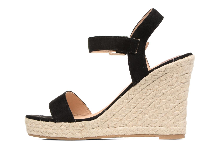 Sandales et nu-pieds ONLY Amelia Plain Heeled Sandal Noir vue face