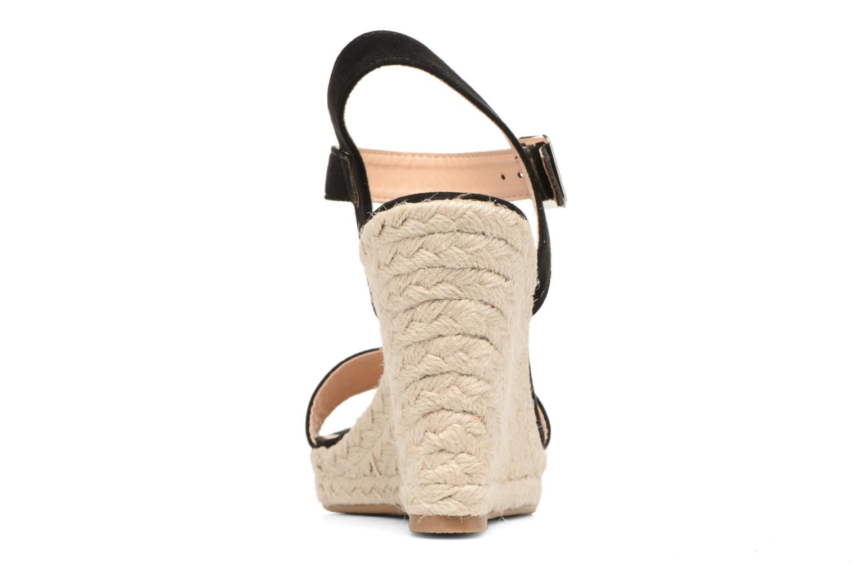 Sandales et nu-pieds ONLY Amelia Plain Heeled Sandal Noir vue droite