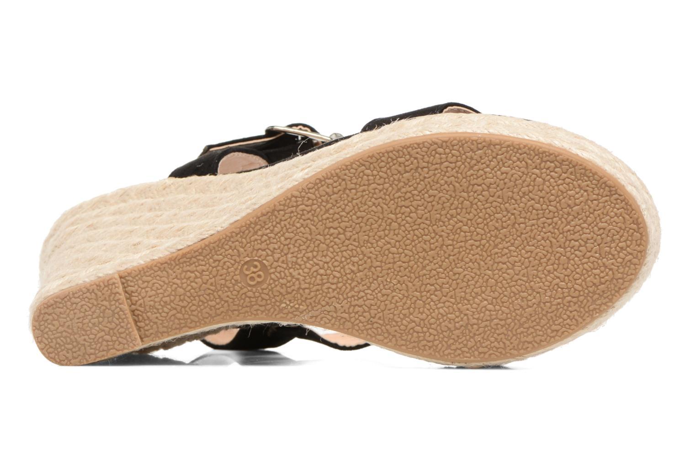 Sandales et nu-pieds ONLY Amelia Plain Heeled Sandal Noir vue haut