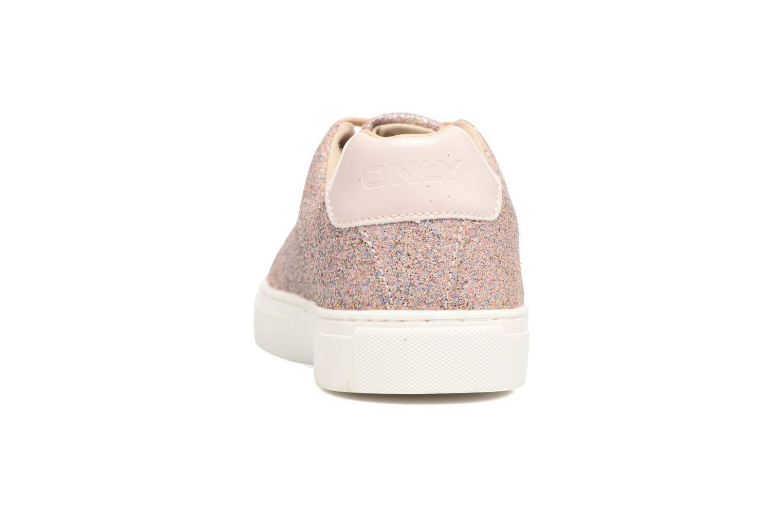 Suzy Glitter Sneaker Pink Dogwood