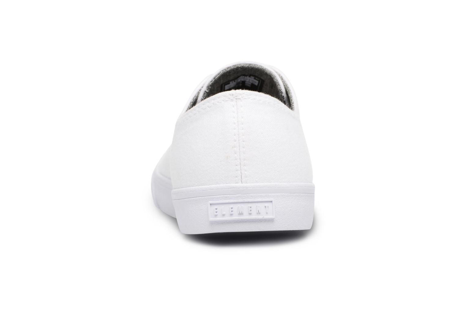 Baskets Element Spike Blanc vue droite