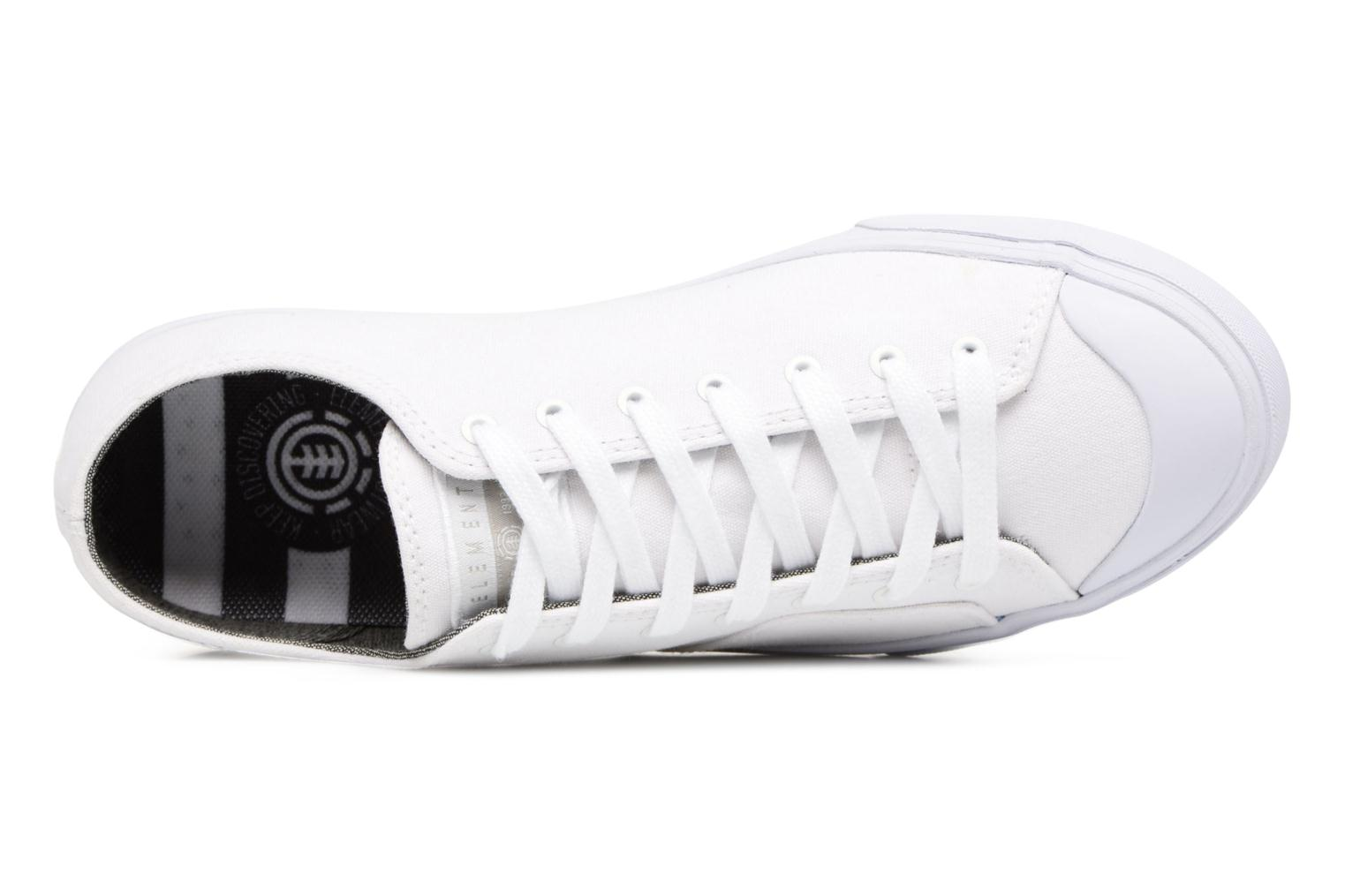 Baskets Element Spike Blanc vue gauche