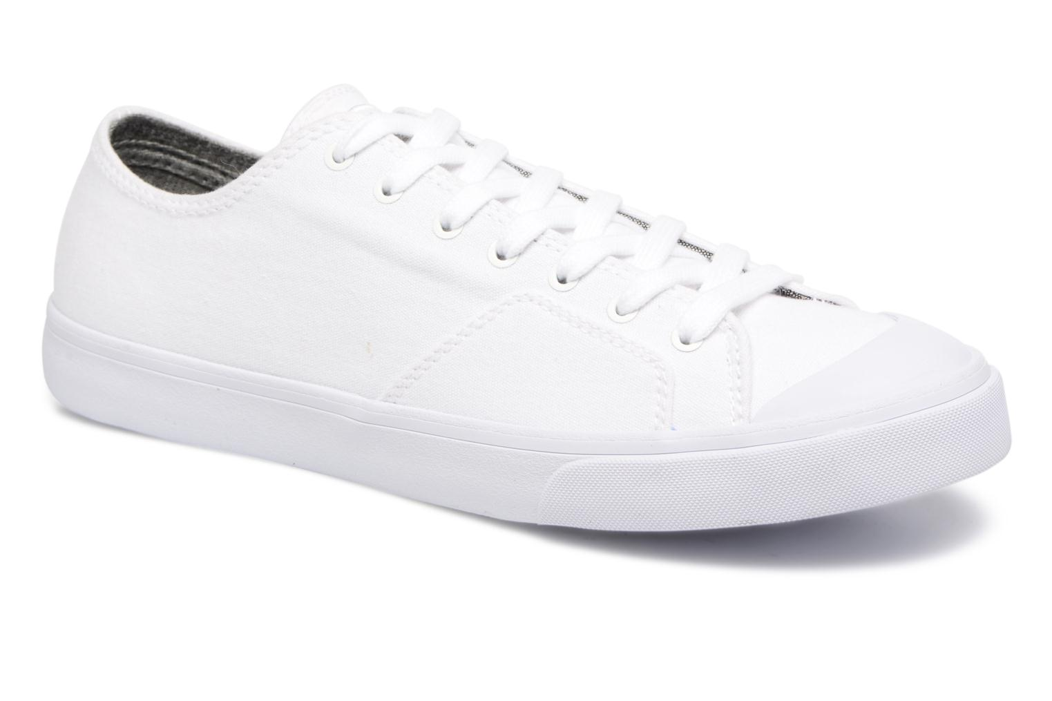 Baskets Element Spike Blanc vue détail/paire