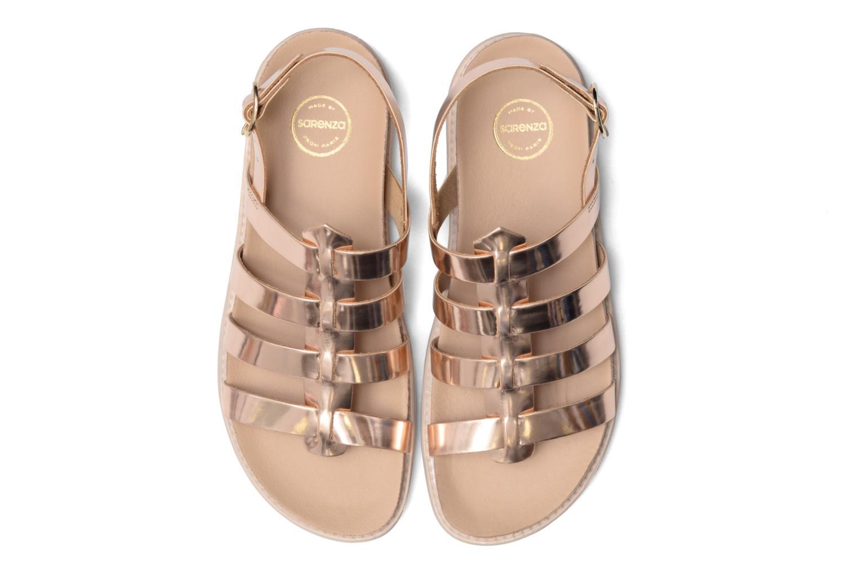 Sandales et nu-pieds Made by SARENZA Pastel Belle #13 Or et bronze vue portées chaussures