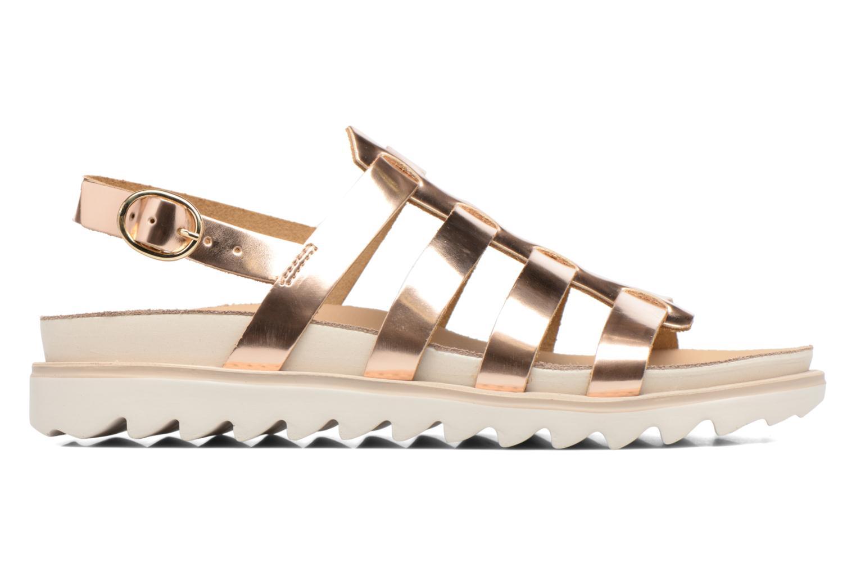 Sandales et nu-pieds Made by SARENZA Pastel Belle #13 Or et bronze vue détail/paire