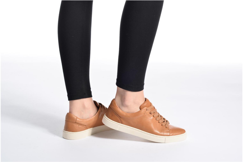 Sneakers Frye Ivy Low Lace Bruin onder